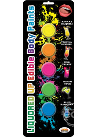 Liquored Up Body Paints 5 Flavors
