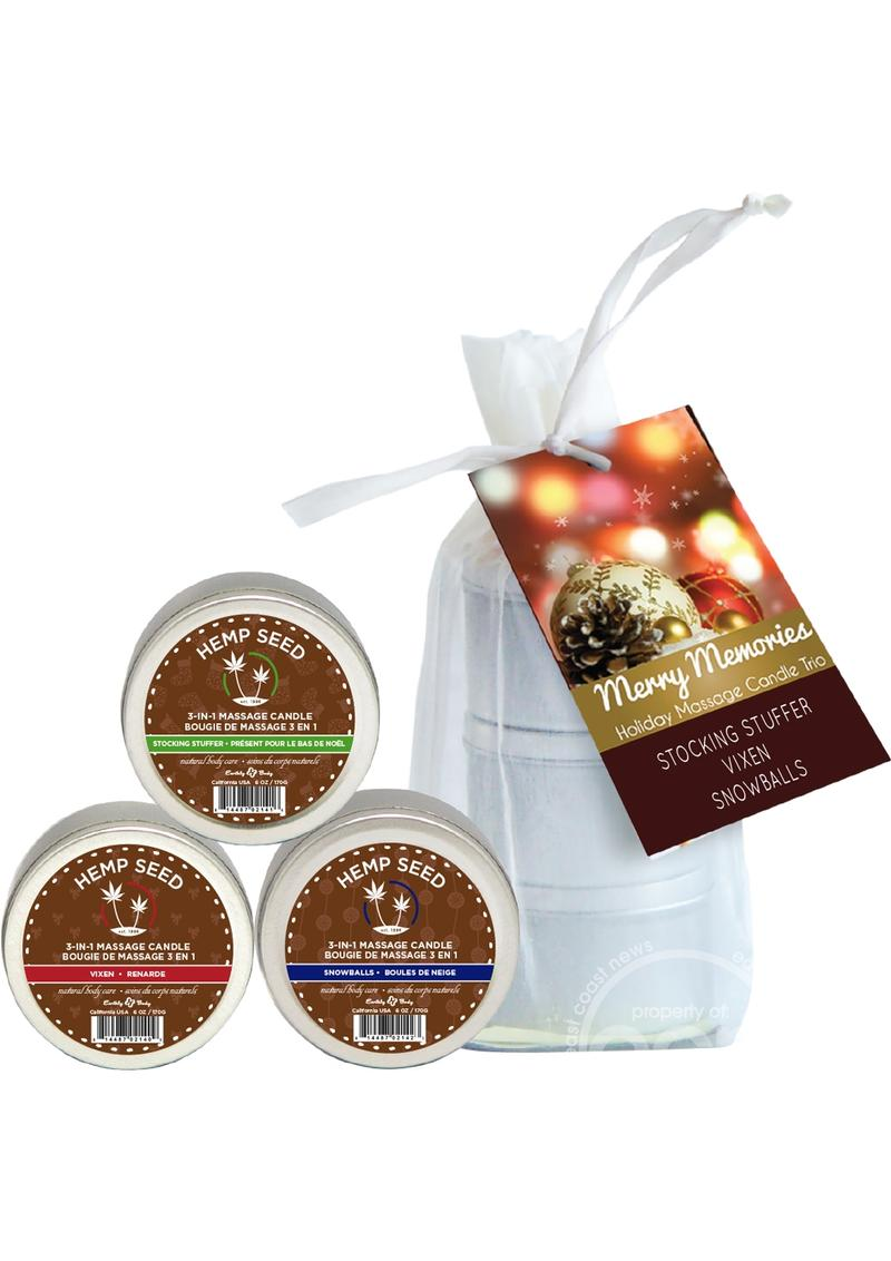 Holiday 2016 Trio Candels 2oz
