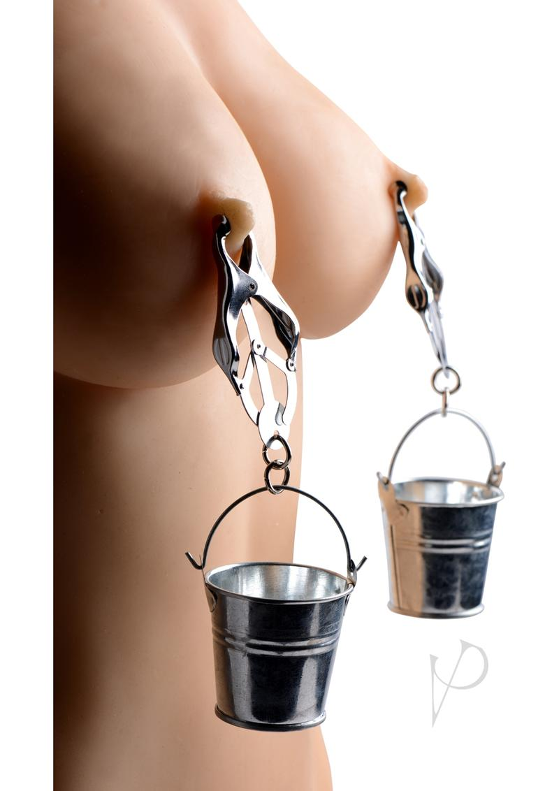 Ms Jugs Nipple Clamps W/buckets